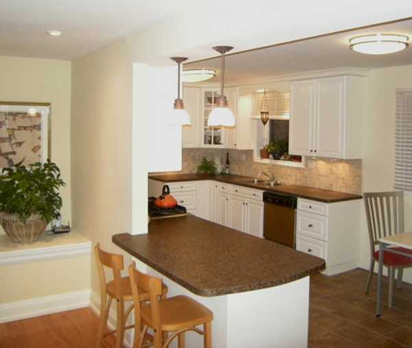 For Small Kitchen Design And For Large Kitchen Interiors, The Possibility  To Seat More People Is A Plus.