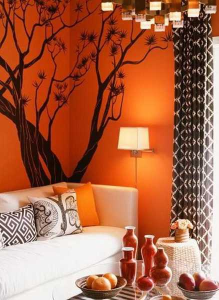 Blue And Orange Living Room Ideas: Modern Interior Design Ideas Celebrating Bright Orange
