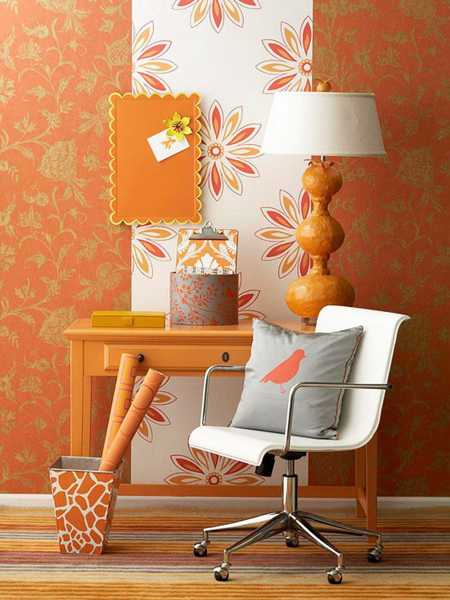 Modern Interior Design Ideas Celebrating Bright Orange