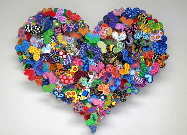 handmade home decorations and gifts, hearts decorations