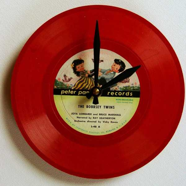 Recycling Old Music Records For Exotic Wall Clocks And