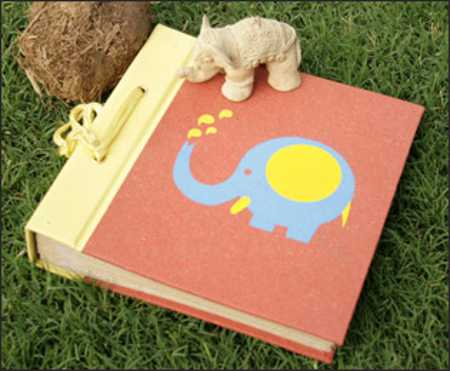 photo albums made of organic paper