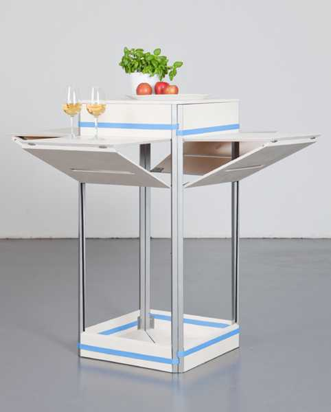 mobile small kitchen island