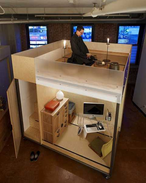 Small Office Interior: Small Spaces For Work That Feng Shui Home And Office Interiors
