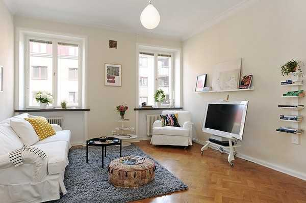 Decorating Small Spaces, Apartment Ideas Optimized by Space ...