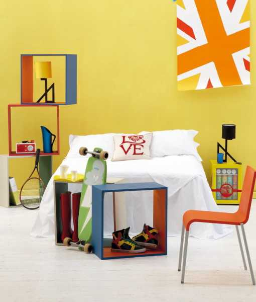 Fabulous Kids Treehouse Design Beautifully Integrated Into: Modern Teenage Bedroom Decorating Ideas And Room Colors
