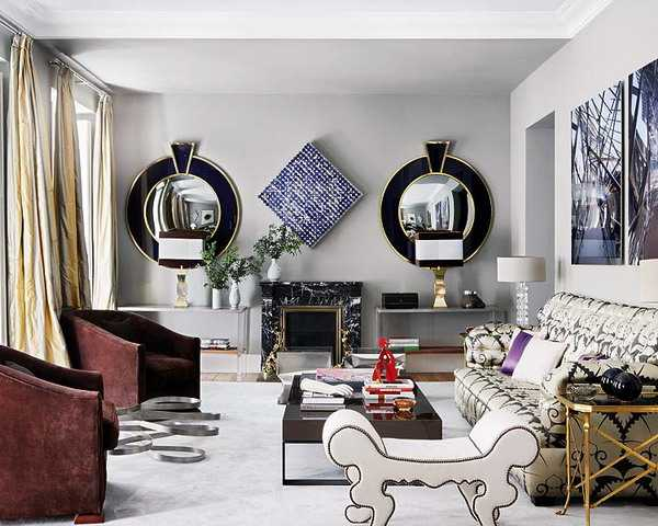 Wall Mirrors Reflecting 25 Gorgeous Modern Interior Design ...