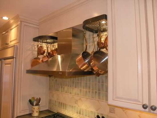 Copper Metal Kitchen Hood Sink And Stove Modern Design Ideas Decorating In Vintage Style