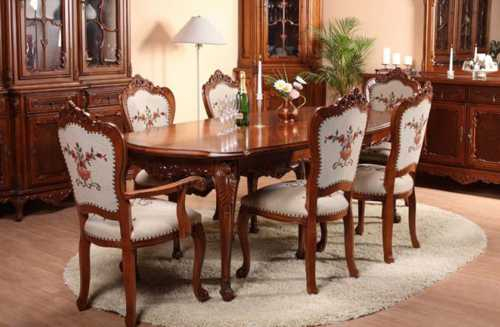 The Number 4 Is Associated With Death In Chinese Culture. A Table For 6  People Are Ideal For Dining Room Decorating And Good Feng Shui.