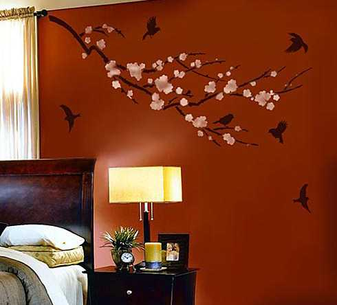 20 Beautiful DIY Interior Decorating Ideas Using Stencils and Paint ...