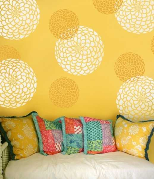 20 Beautiful Diy Interior Decorating Ideas Using Stencils And Paint