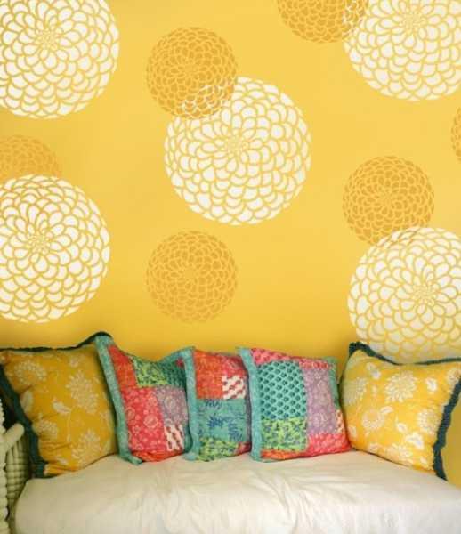 Incredible 20 Beautiful Diy Interior Decorating Ideas Using Stencils Download Free Architecture Designs Ferenbritishbridgeorg