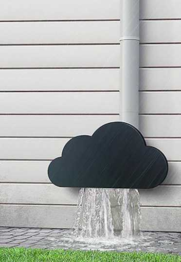 30 Amazing Downspout Ideas Splash Guards Charming Rain