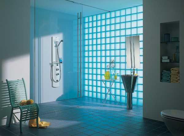 Glass Block Wall Design Ideas Adding Unique Accents To Eco