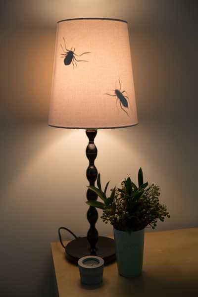 Creative Halloween Decorations Lamp Shades With Crawling