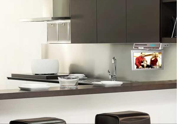 7 Modern Kitchen Design Trends Stylishly Incorporating TV ...