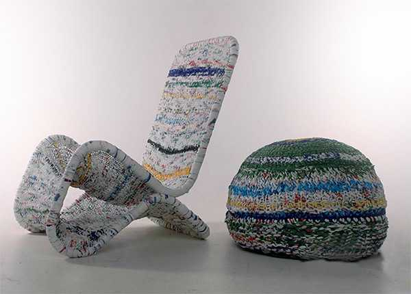 30 Knitted Furniture Covers And Decorative Accessories Celebrating