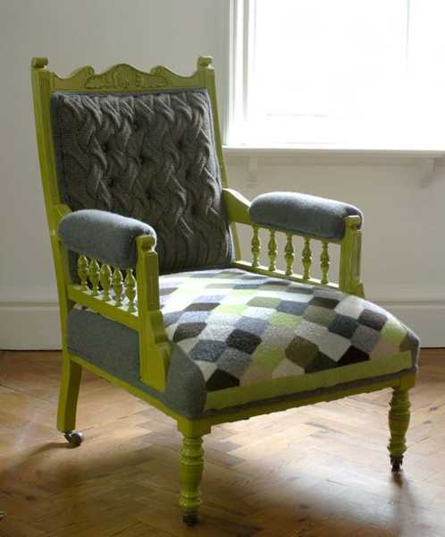 Cool 30 Knitted Furniture Covers And Decorative Accessories Uwap Interior Chair Design Uwaporg