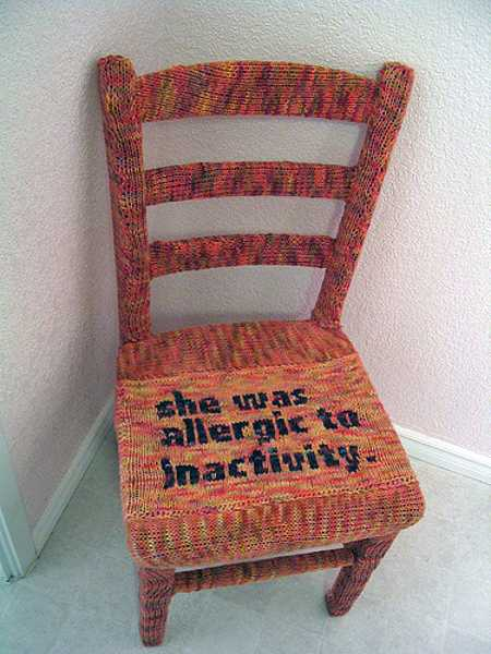 Fantastic 30 Knitted Furniture Covers And Decorative Accessories Uwap Interior Chair Design Uwaporg
