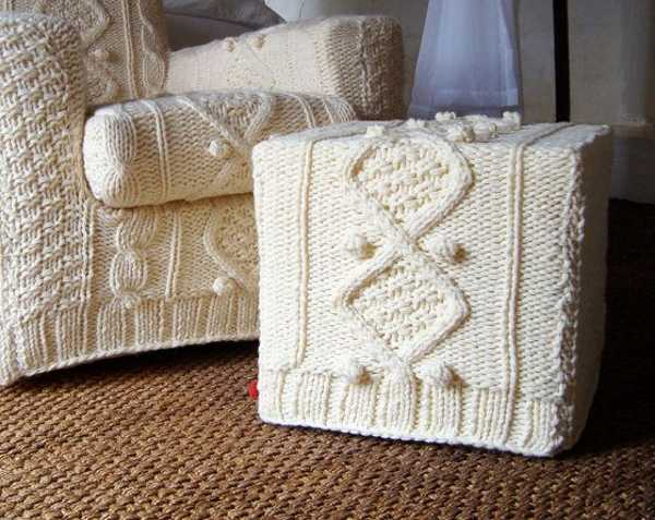 Pleasant 30 Knitted Furniture Covers And Decorative Accessories Uwap Interior Chair Design Uwaporg