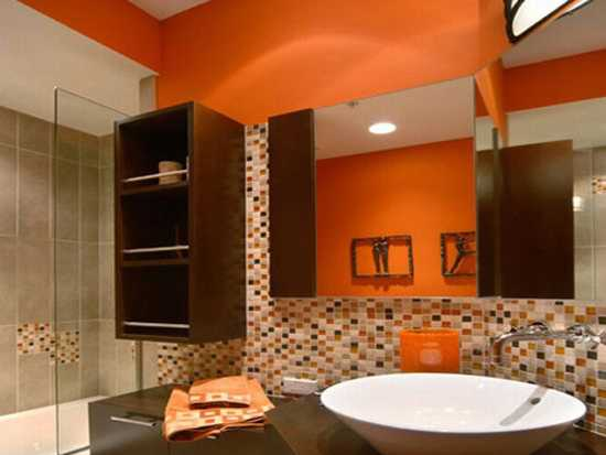 40 Modern Interior Design Ideas Blending Brown And Orange Colors Mesmerizing Brown And Orange Bedroom Ideas