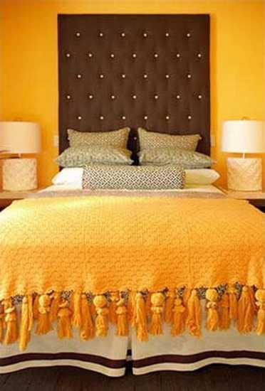 22 Modern Interior Design Ideas Blending Brown and Orange Colors ...