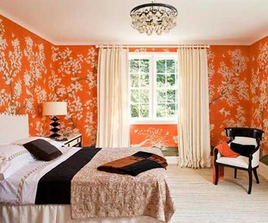 22 Modern Interior Design Ideas Blending Brown and Orange ...