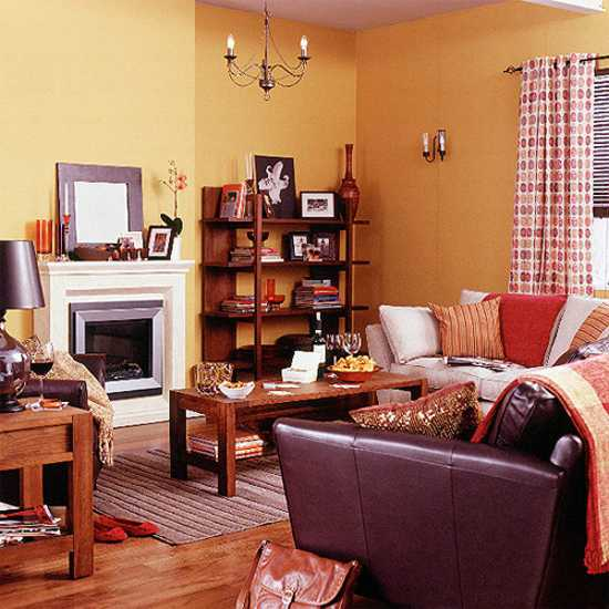 40 Modern Interior Design Ideas Blending Brown And Orange Colors Beauteous Brown And Orange Bedroom Ideas