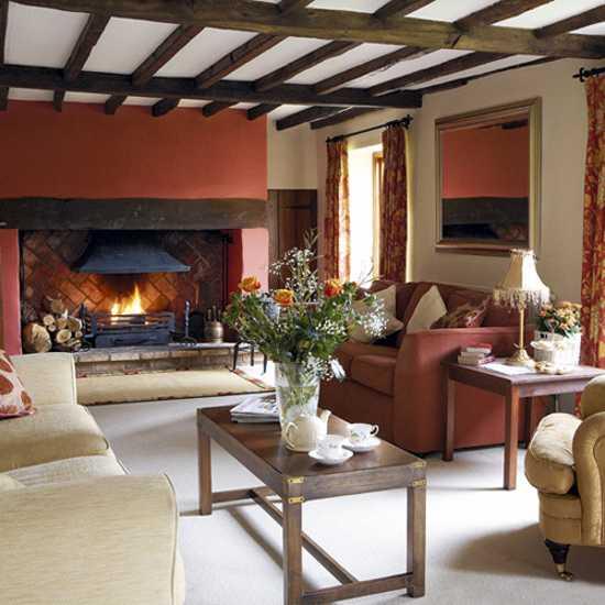 22 modern interior design ideas blending brown and orange colors rh lushome com
