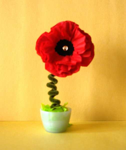 15 Gorgeous Red Poopy Flower Arrangements And Remembrance