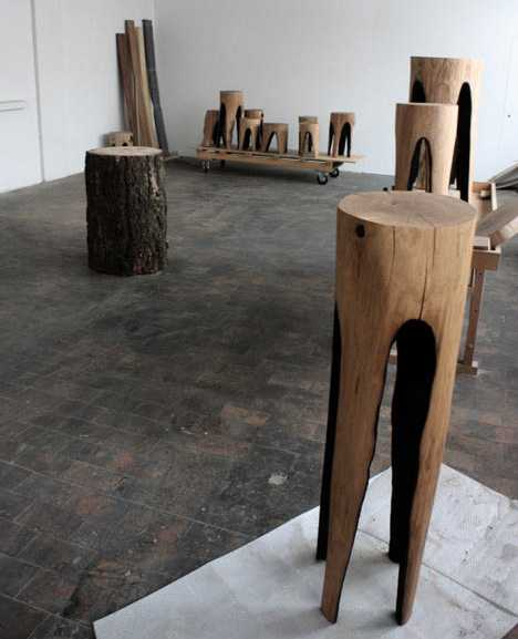 25 Handmade Wood Furniture Design Ideas Modern Salvaged Wood Chairs