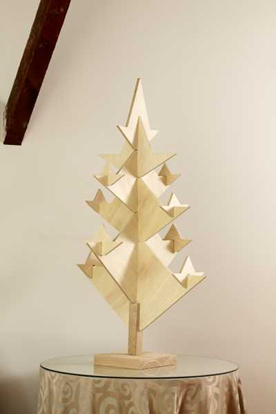 unique christmas tree design idea to assemble