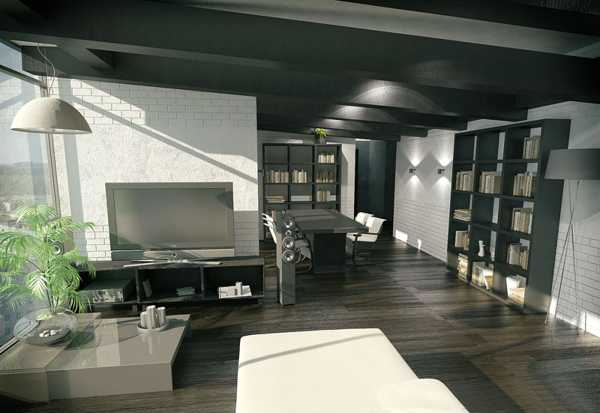 Black Ceiling Designs Creating Modern Home Interiors That