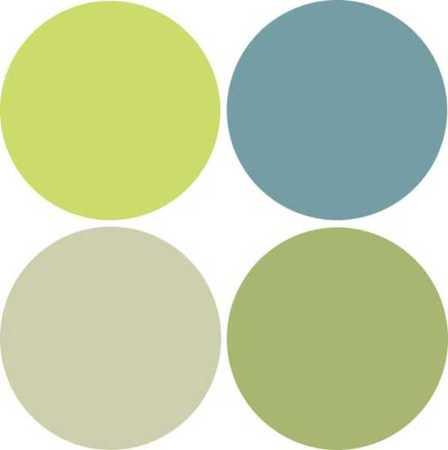 Grey Green Blue Color Scheme