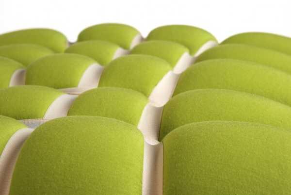 cushion made of foam mat