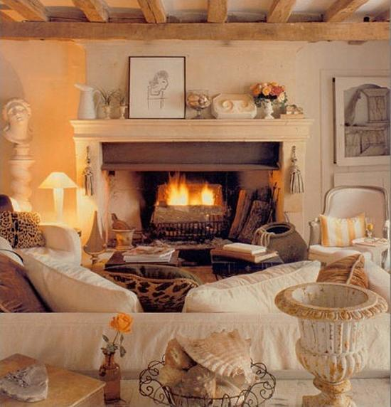 Inspiring Sitting Room Decor Ideas For Inviting And Cozy: Cozy Thanksgiving Decorating Ideas, Living Room Makeover