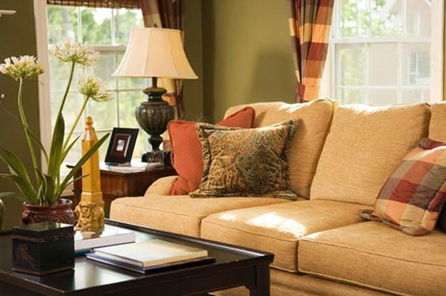 Cozy thanksgiving decorating ideas living room makeover in fall - Living room centerpieces ideas ...