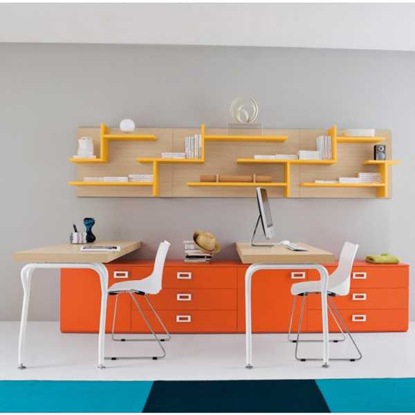 Exceptionnel 30 Office Design Ideas Bringing Optimism With Orange Color