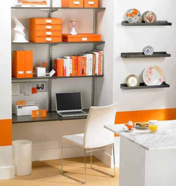 30 Office Design Ideas Bringing Optimism With Orange Color