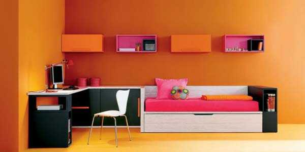 Office color Benjamin Moore You Will Love The Transformation Changing Your Office Interior Into Room Filled With Positive Energy And Beautiful Color Lushome 30 Office Design Ideas Bringing Optimism With Orange Color