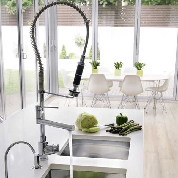 Modern Kitchen Sinks Adding Decorative Accents to Functional ...