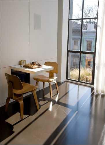 Suitcase Shaped Folding Table Unique Furniture Design Idea