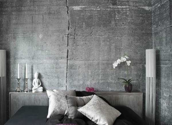 modern wallpaper patterns for creating concrete wall design