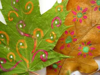 30 Great Painting Ideas Turning Dry Leaves Into Unique Gifts And Home Decorations