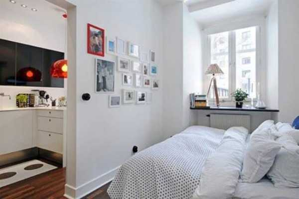 White Bedding And Wall Paint
