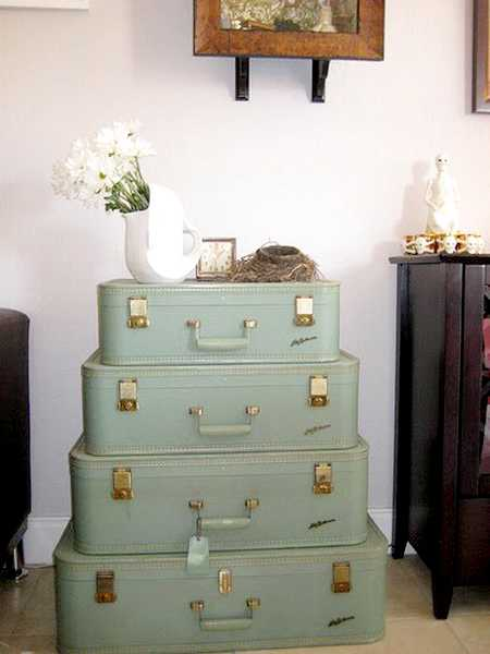 20 Design Ideas To Upcycle Old Suitcases To Modern