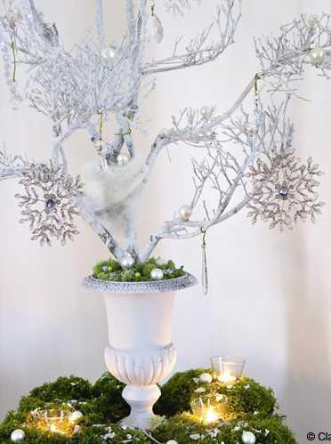 Elegant Christmas Decorating Ideas Blending Light Gray