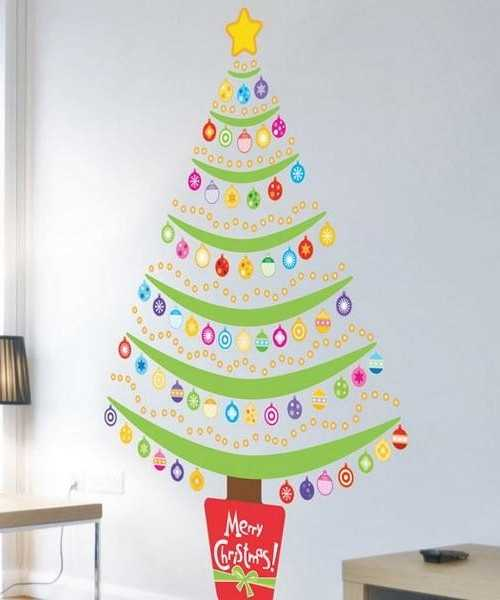 22 creative christmas home decoration ideas for every room - Simple Christmas Decoration Ideas