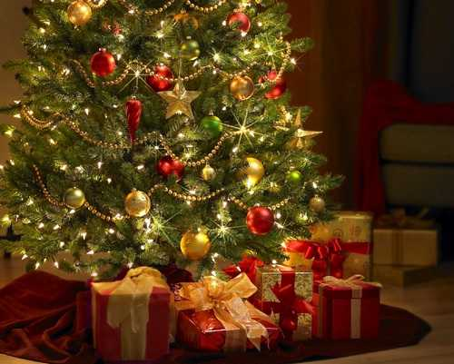 Safe Christmas Decorating Tips, Christmas Tree Decoration with Lights
