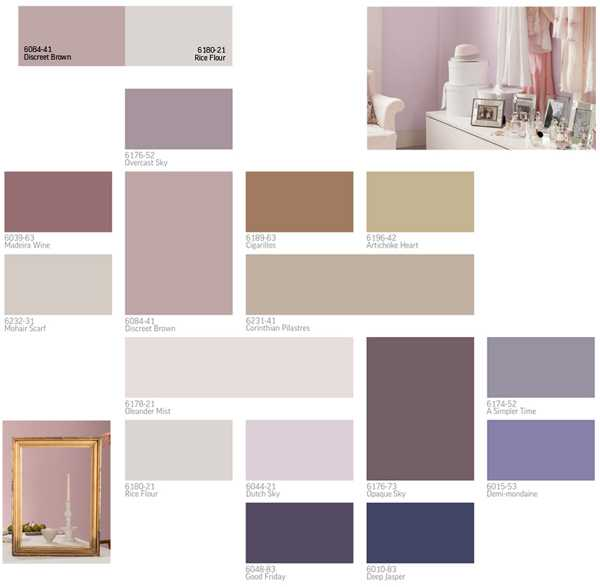Purple And Gray Color Schemes For Modern Interior Design Decor 2017